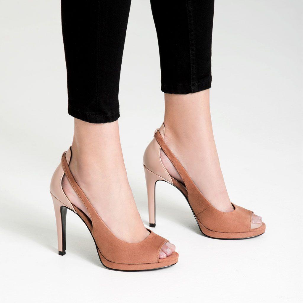 Access Denied Heels High Heel Shoes Peep Toe Shoes