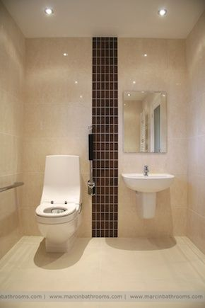 simple and functional disabled bathroom layout | Handicap ...