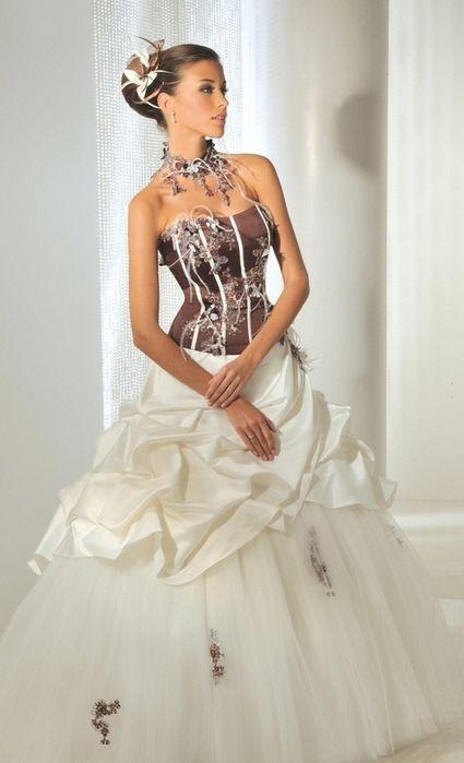 robe de mari e anne couture de taille 40 42 le bustier. Black Bedroom Furniture Sets. Home Design Ideas