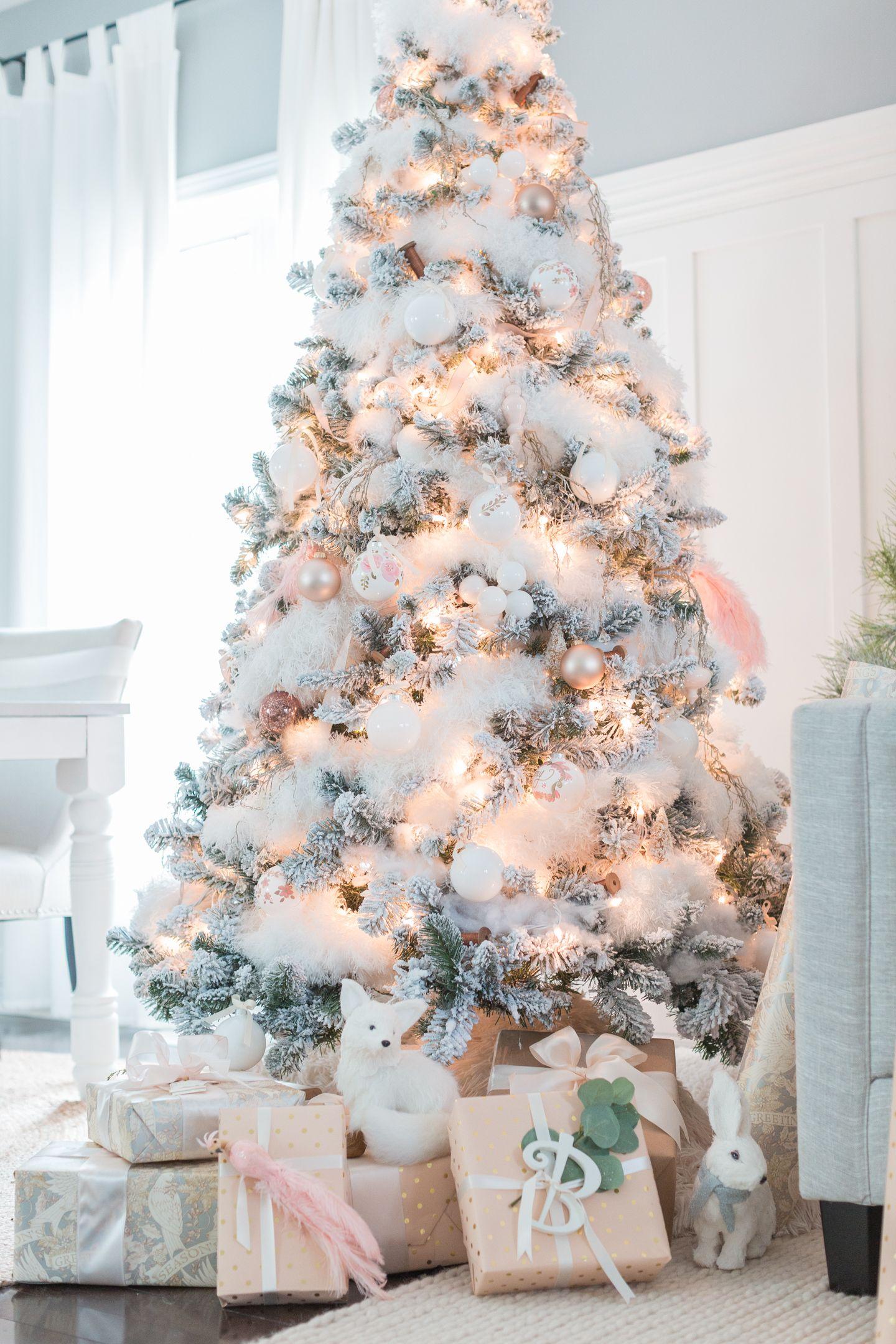 Craftberry Bush | Holiday Housewalk 2016 | http://www.craftberrybush.stfi   Gold Christmas DecorationsFlocked Christmas TreesColorful ...
