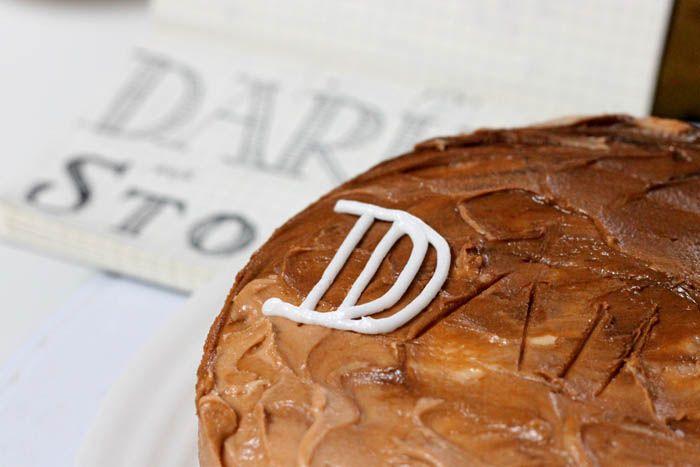 DARK 'N STORMY: Rum Cake ft. Ginger Glaze + Ginger Frosting + Pineapple-Lime Salsa