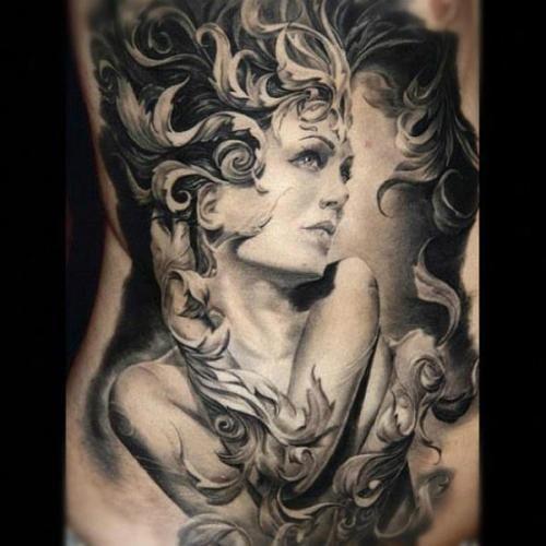 Tatuaje Realista De Mujer Body Art Torres Tattoo Tattoos