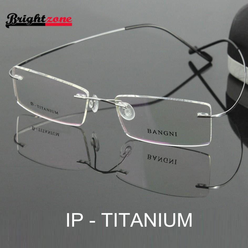 e99e8244be49 Bestseller lightest flexible BN rimless non-screw 6g beta pure titanium  eyeglasses frame brand optical