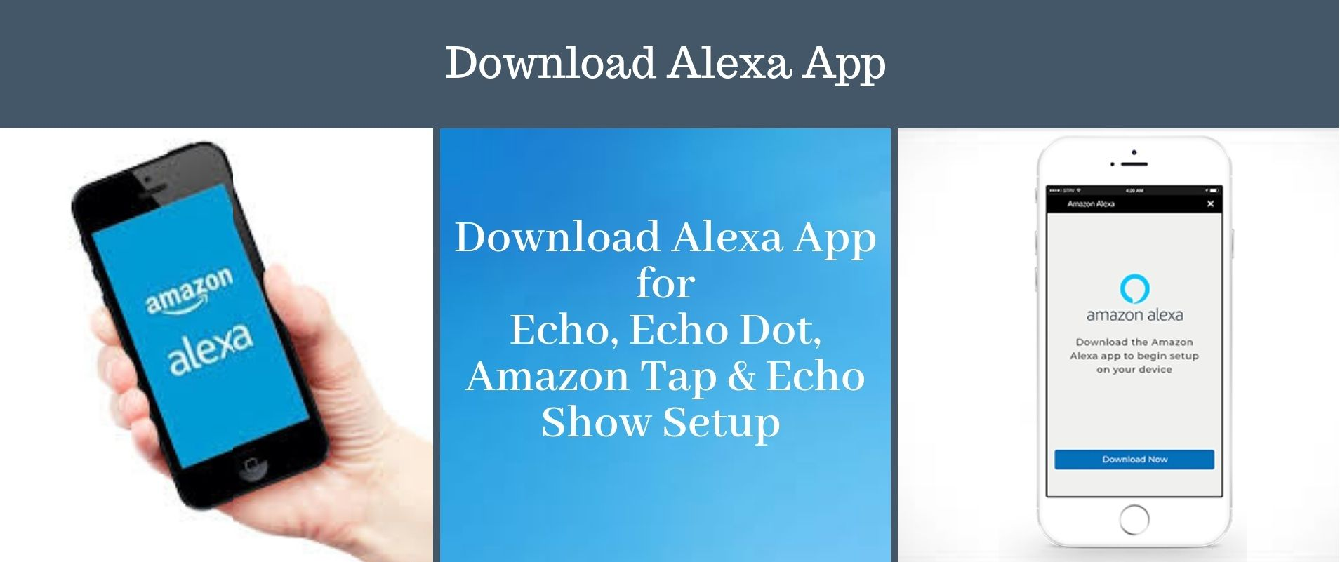 Download Alexa App for Echo, Visit alexa amazon com  You can