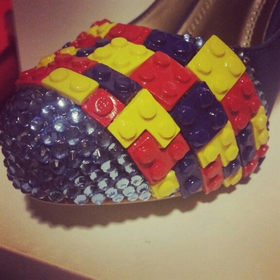 Bridal Shoes Alternative: Lego Shoes Created By Rev…