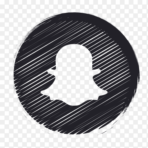 Black Social Media Logo Snapchat Png Snapchat Logo Social Media Logos Logos