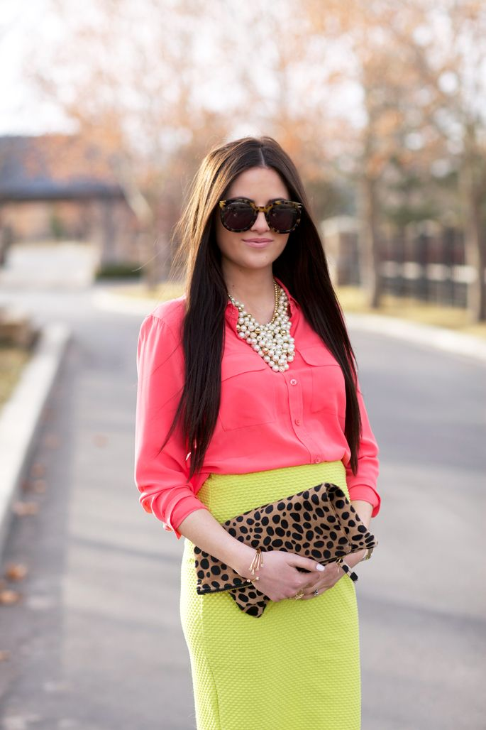 Colorful and Feminine… (via Bloglovin.com )