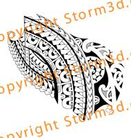 forearm-tribal-tattoo-design-marquesan | High quality Maori tribal ...