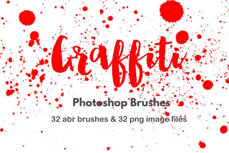 Spray Paint Splatter Graffiti Photoshop Brush By Foxydigitalart Thehungryjpeg Com Photoshop Brushes Graffiti Photoshop