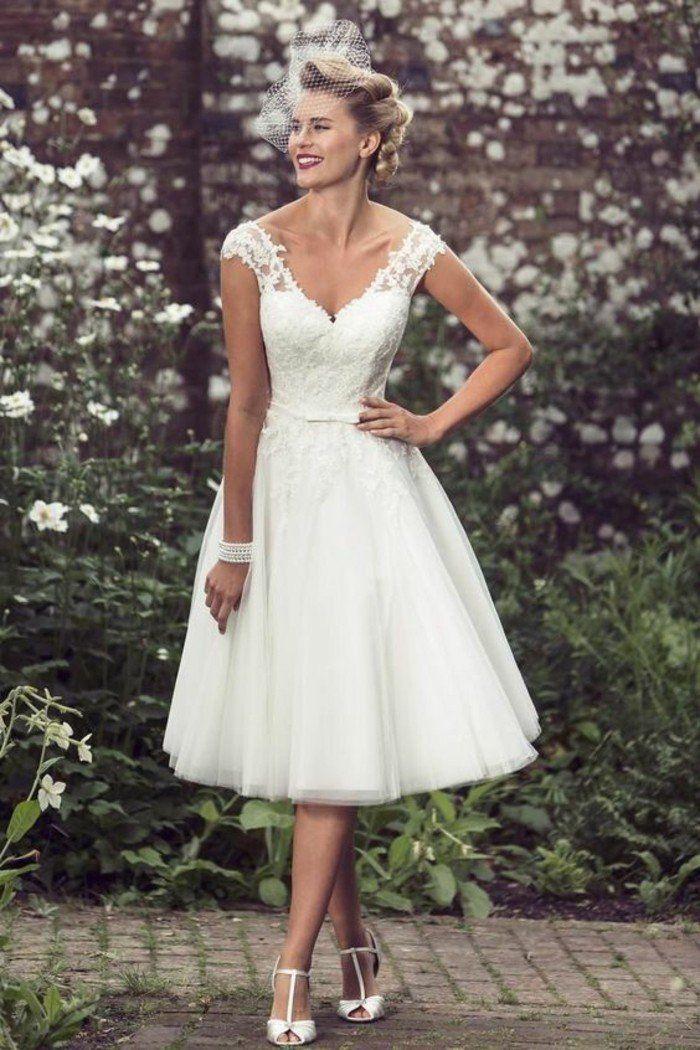 Trouvez votre robe de mariée courte 70 magnifiques idées