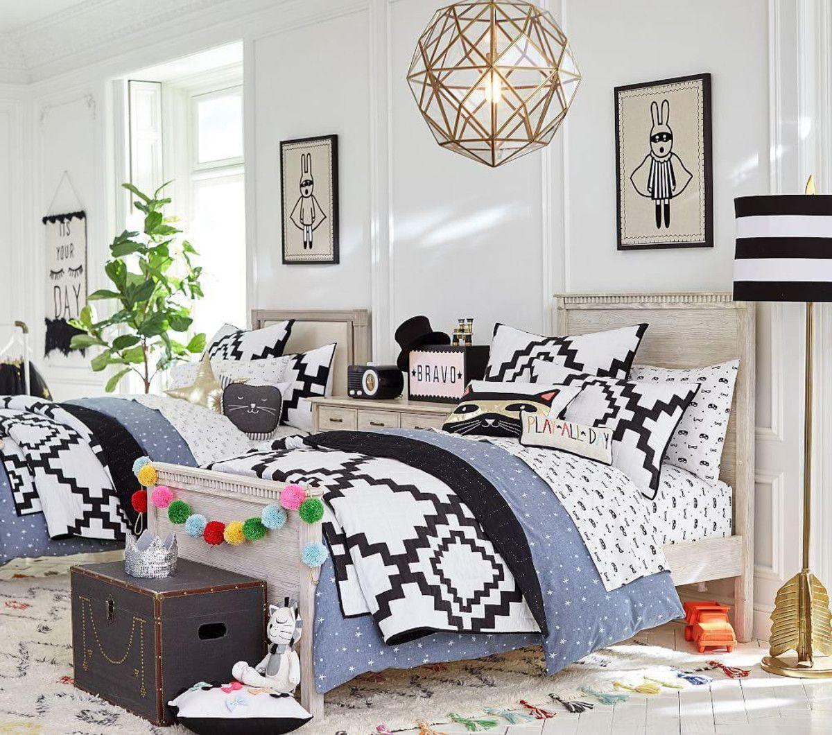 The Emily & Meritt Little Bandit Patchwork Quilted Bedding