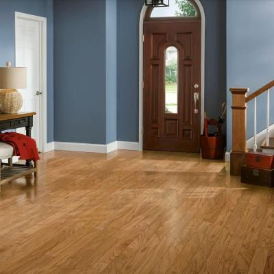 Bruce Plano Oak Marsh 3 8 In Thick X 3 In Wide X Varying Length Engineered Hardwood Flooring 30 Sq Ft Case Epl3134 The Home Depot Engineered Hardwood Flooring Hardwood Floors Engineered Hardwood
