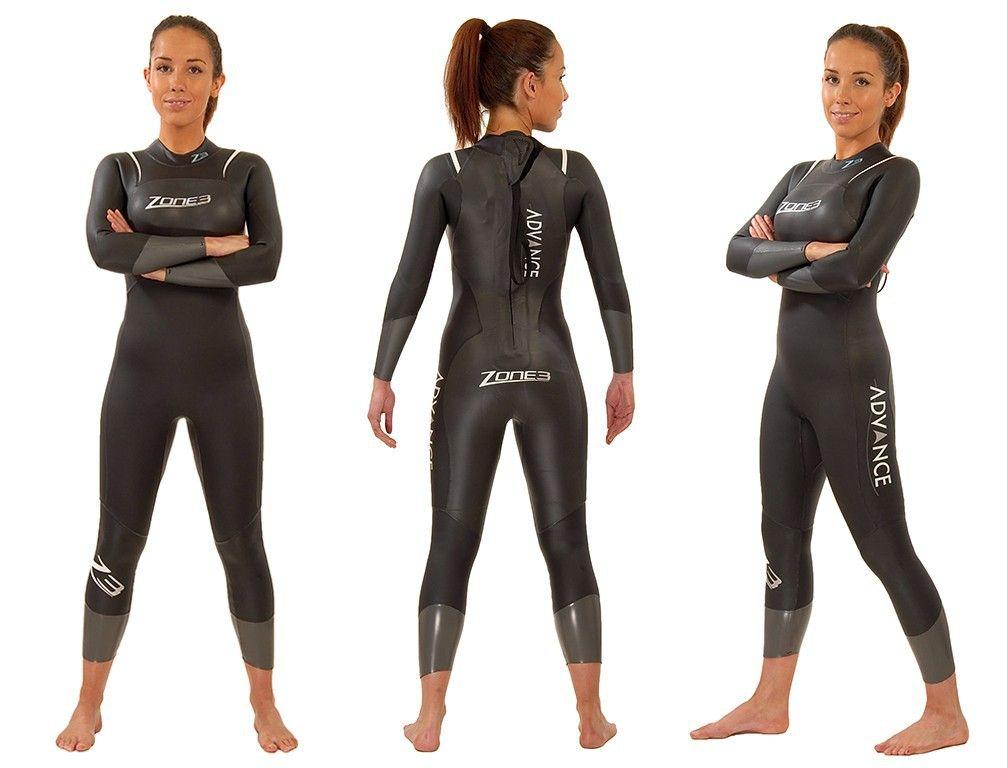 £99.95 Zone 3 2014 Womens Ex Rental Advance Wetsuit - Two Hire - MyTriathlon 758eab225