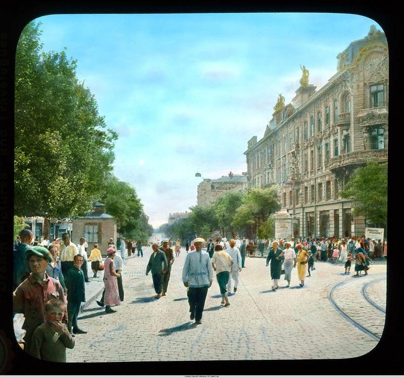 """""""Цветная"""" Одесса 1931 года из уникальной фотоколлекции ..."""