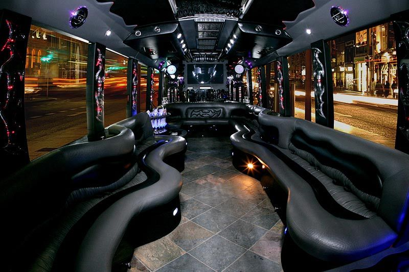 No duis ride securely with party bus rental boston