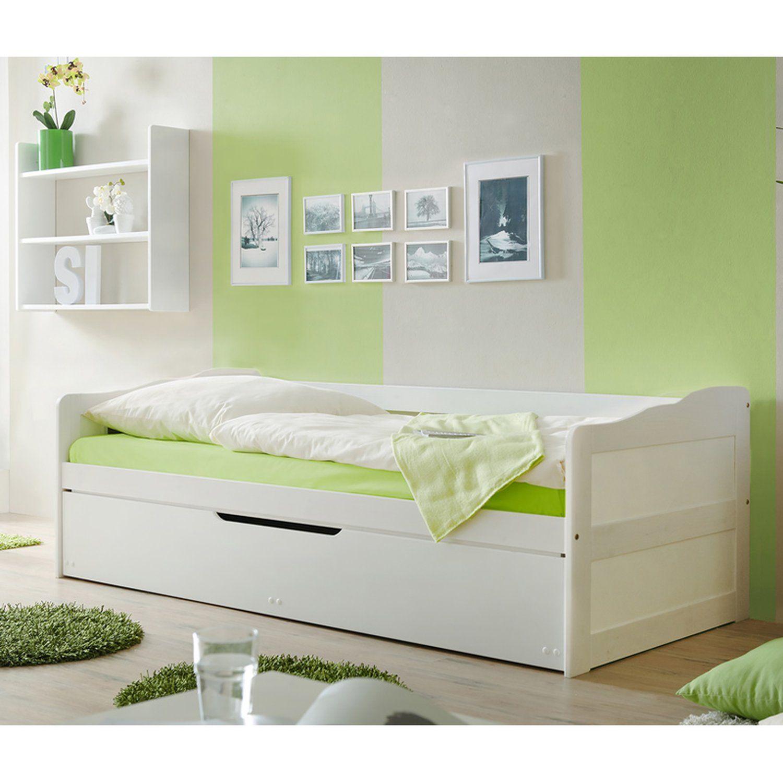 Massivholzbetten Shop Aldi Metallbett Quietscht Doppelbett Weiss 180x200 Komplett Betten Gunstig Online Kaufen Einze Sofa Bett Sofabett Bett Weiss 90x200