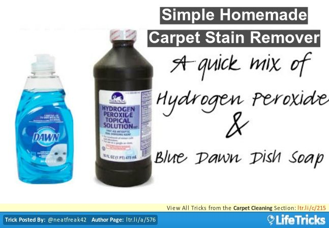 Carpet Cleaning Simple Homemade Carpet Stain Remover