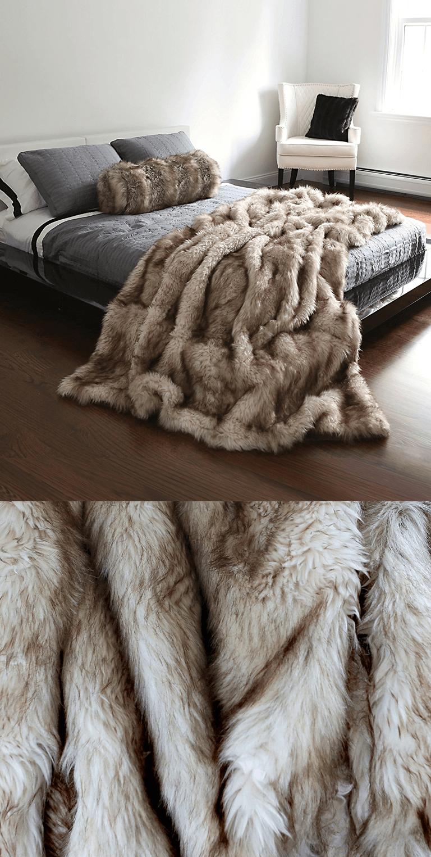 Best Fashion Faux Fur Throw Blanket Faux Fur Throw Bedroom Faux Fur Bedding Couch Throw Blanket