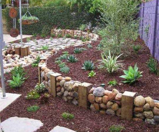 Fantasztikus kerti szegély ötletek! Így lehet káprázatos a kerted - gartenbepflanzung am hang
