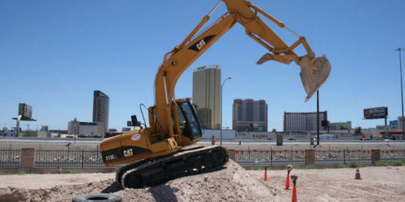 Become a power machine master at the Heavy Equipment Playground! #travel #roadtrips #roadtrippers