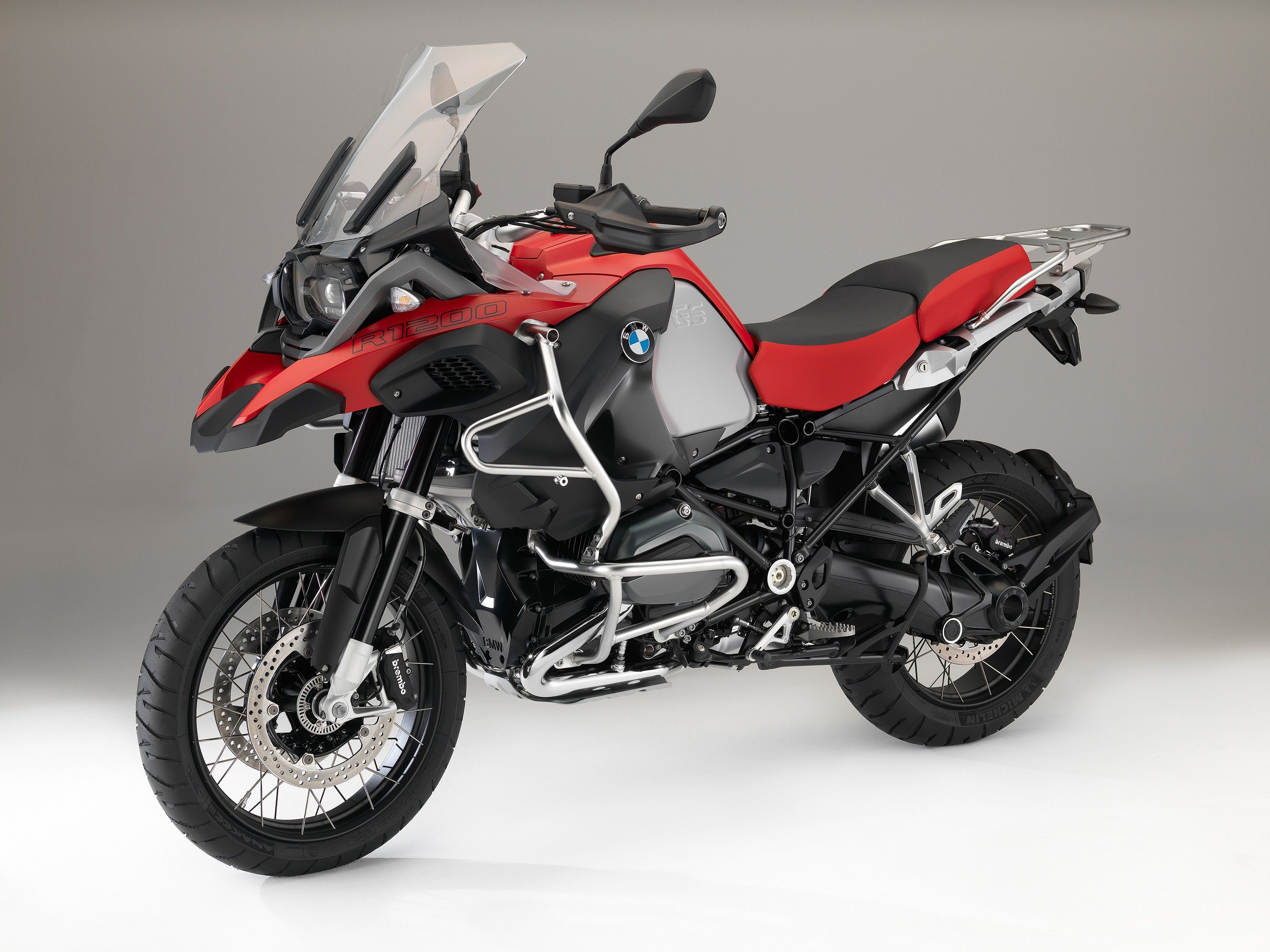 BMW R 1200 GS Adventure Racing red non metallic matt