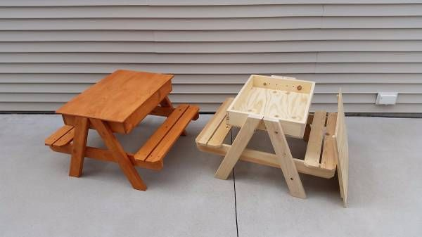Sandbox Picnic Table http://milwaukee.craigslist.org ...