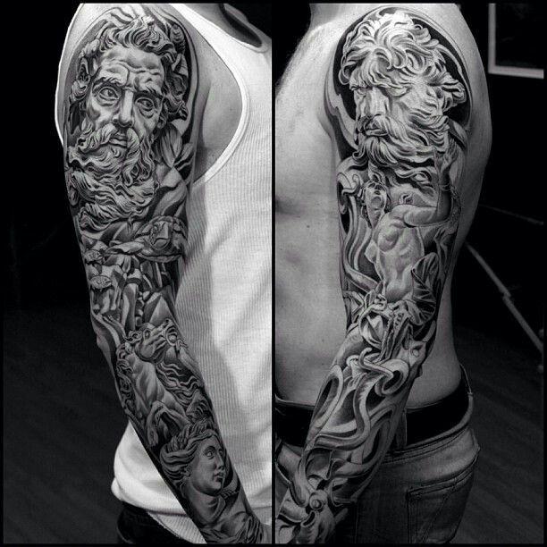 Pin By Vidal Castro On Tattoos Tattoos Sleeve Tattoos Mythology
