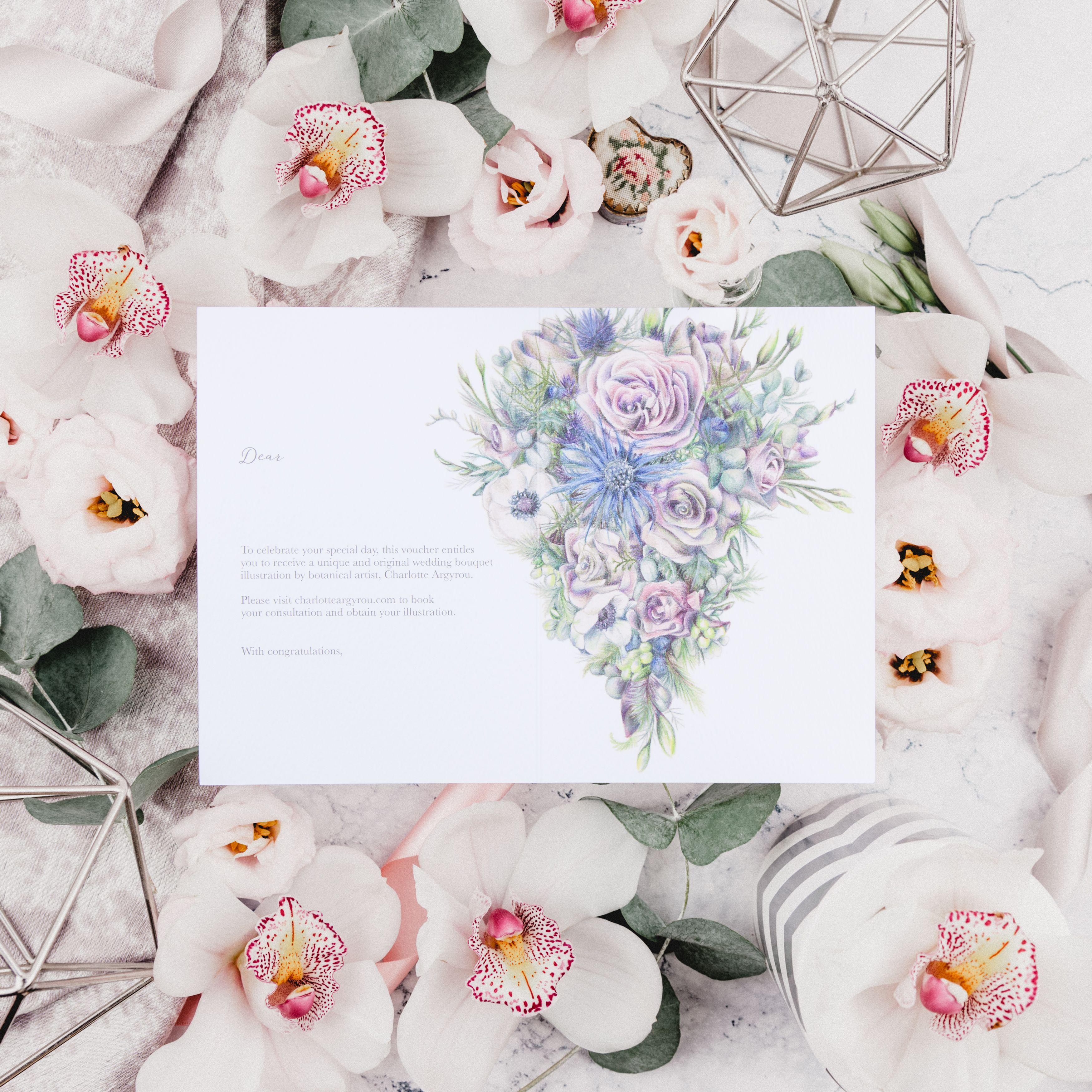 Wedding Bouquet Illustration Service | Illustrations