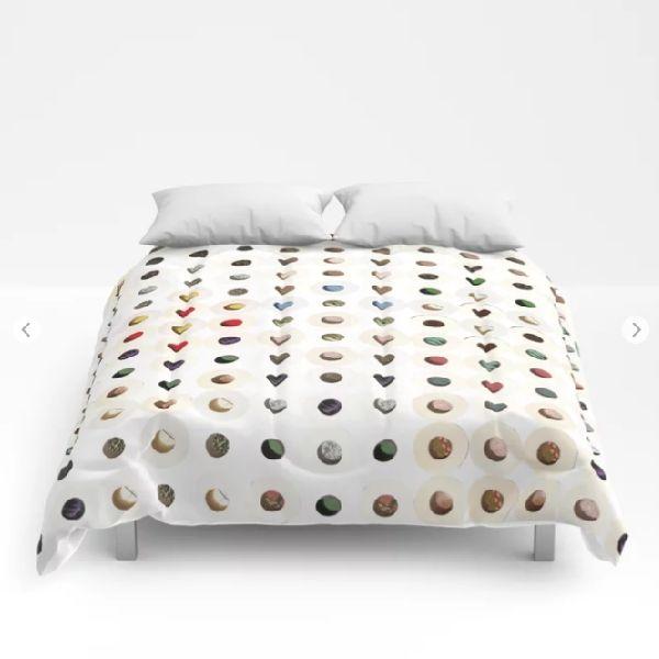 247 toilet rolls 13.  10-2015.  #art #artoftheday #society6 #modern #modernart #contemporaryart #digitalart #paintingmedia #abstract #abstractart #products #follow #geometric #patterns #colourful #dots #circles #comforter #bedding #bedroom #homedecor