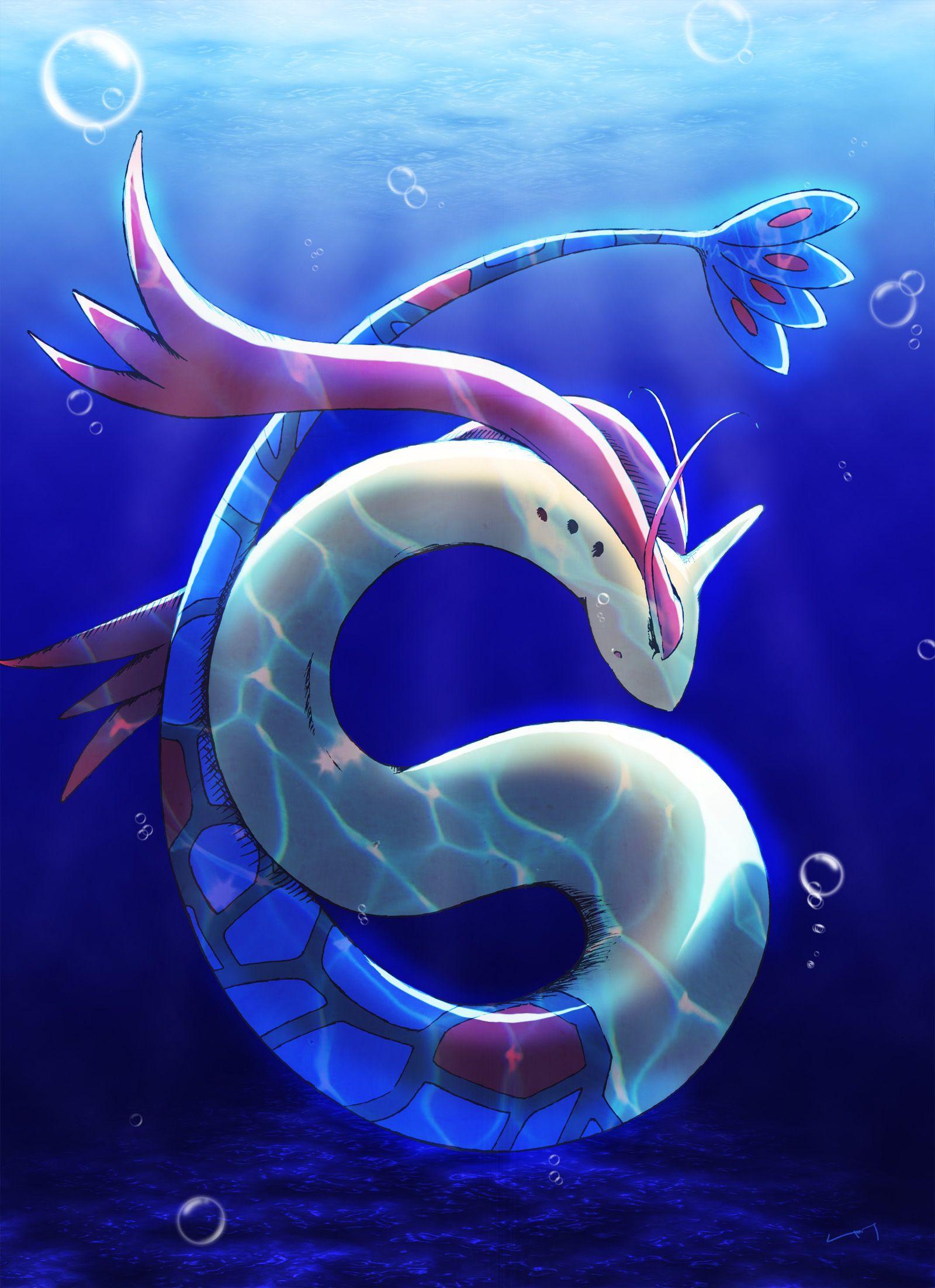 Milotic (With images) Pokemon art, Pokemon mew, Pokemon