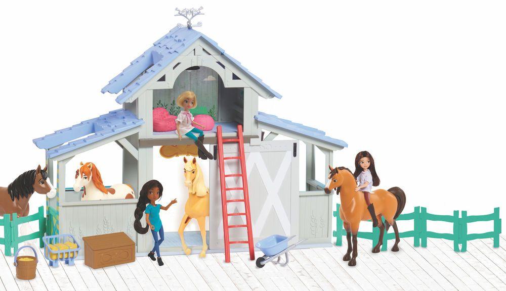 Dreamworks Spirit Riding Free Barn Playset Justplay Toy Barn Playset Toys R Us Canada