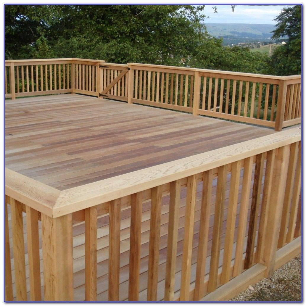 View Deck Railing Decoration Ideas Pics