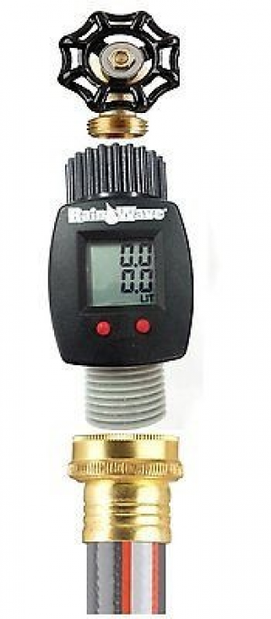 Timer Digital Electronic Water Flow Meter Automatic Garden Save Gallon Flow Meter Will Track Water Flow And Usage Electronic Off Grid Homes Living Pinte