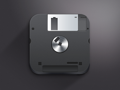 220060902 A different take on a floppy disk. This design is primarily black ...