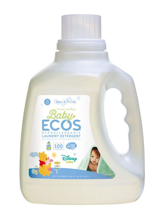 Baby Ecos Free Clear Disney Laundry Detergent Liquid Laundry