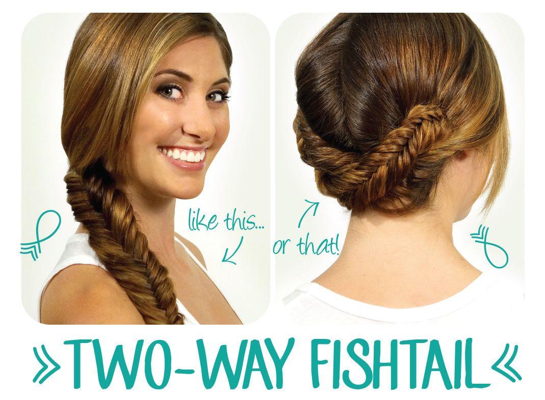Sweet way to wear fishtails hairstyle lookbook pinterest