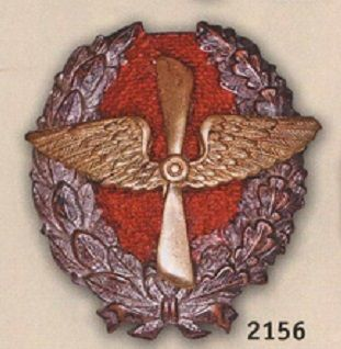 """Знак """" Красного военного лётчика""""  1917 - 1918г"""