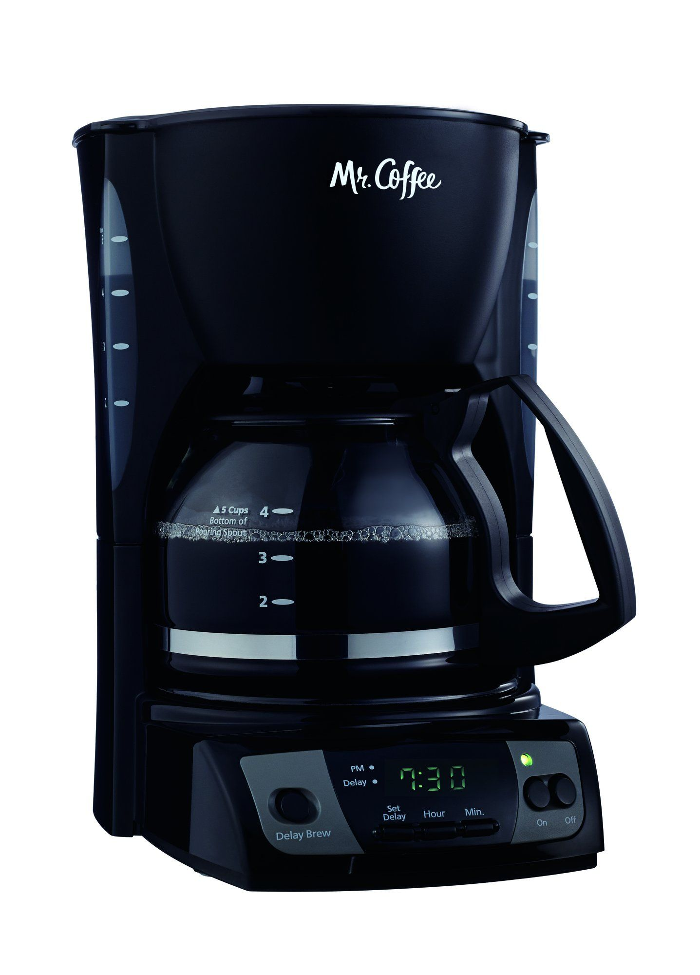 Mr. Coffee Simple Brew 5Cup Programmable Coffee Maker
