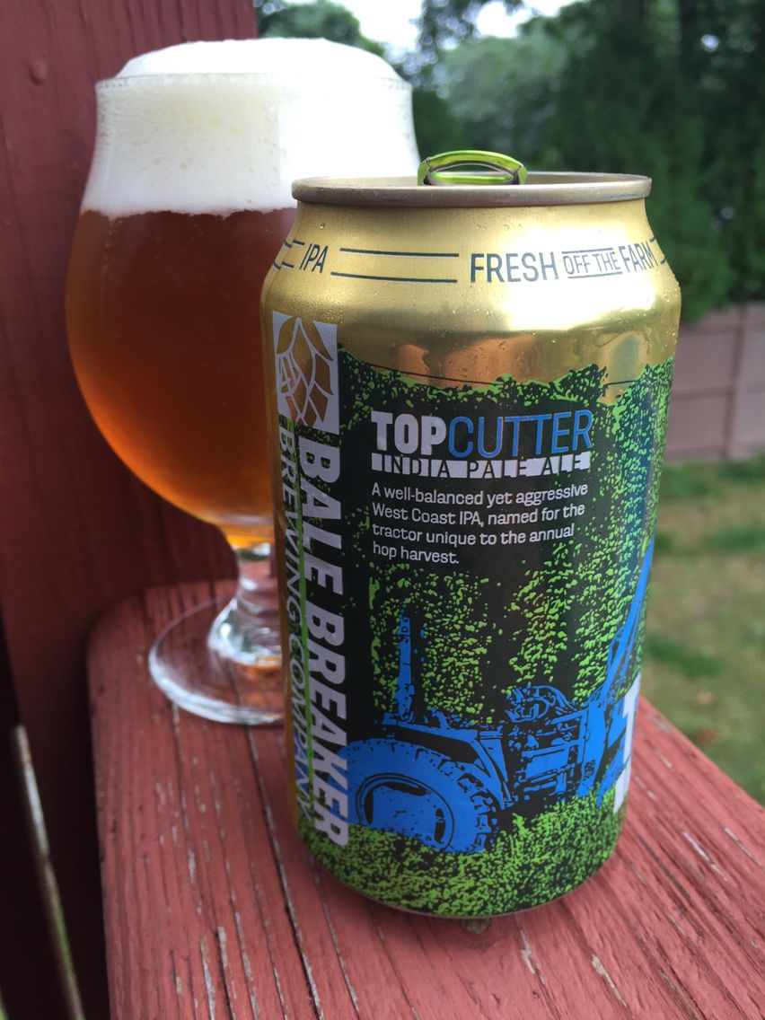 Top Cutter IPA from Cali's Bale Breaker Brewing Co.