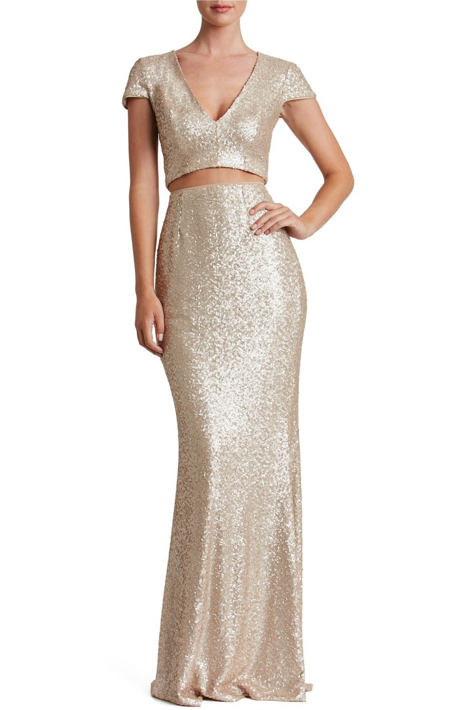 Cara twopiece gown gowns nordstrom and sequins