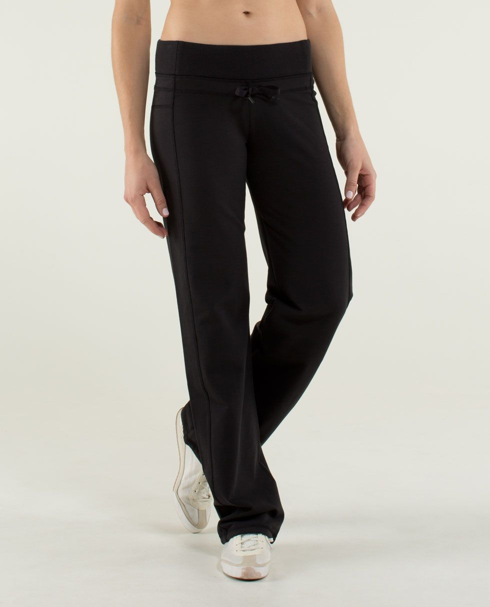 a8a4406104 Lululemon Clam & Cozy Pant, Size 10 in black $88 | Fitness ...