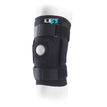 Ultimate Performance Ultimate Hinged Knee Brace A fully tailored design improves comfort and fit behind the knee while two adjustable straps ensure a firm, customised fit with accurate location of the hinges. The design of the tri-axial hinge ensur http://www.MightGet.com/january-2017-11/ultimate-performance-ultimate-hinged-knee-brace.asp