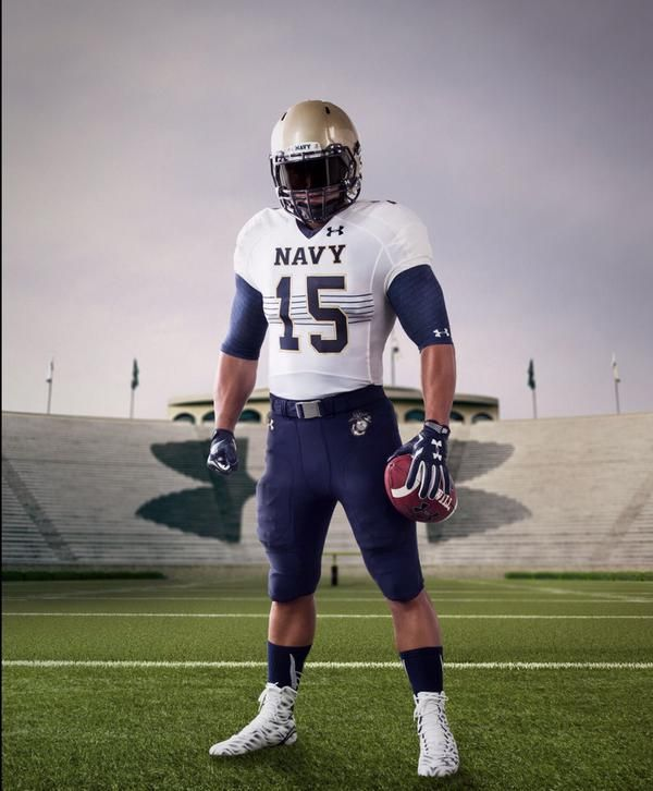 Under Armour uniforms for this weekend's Notre Dame-Navy ...