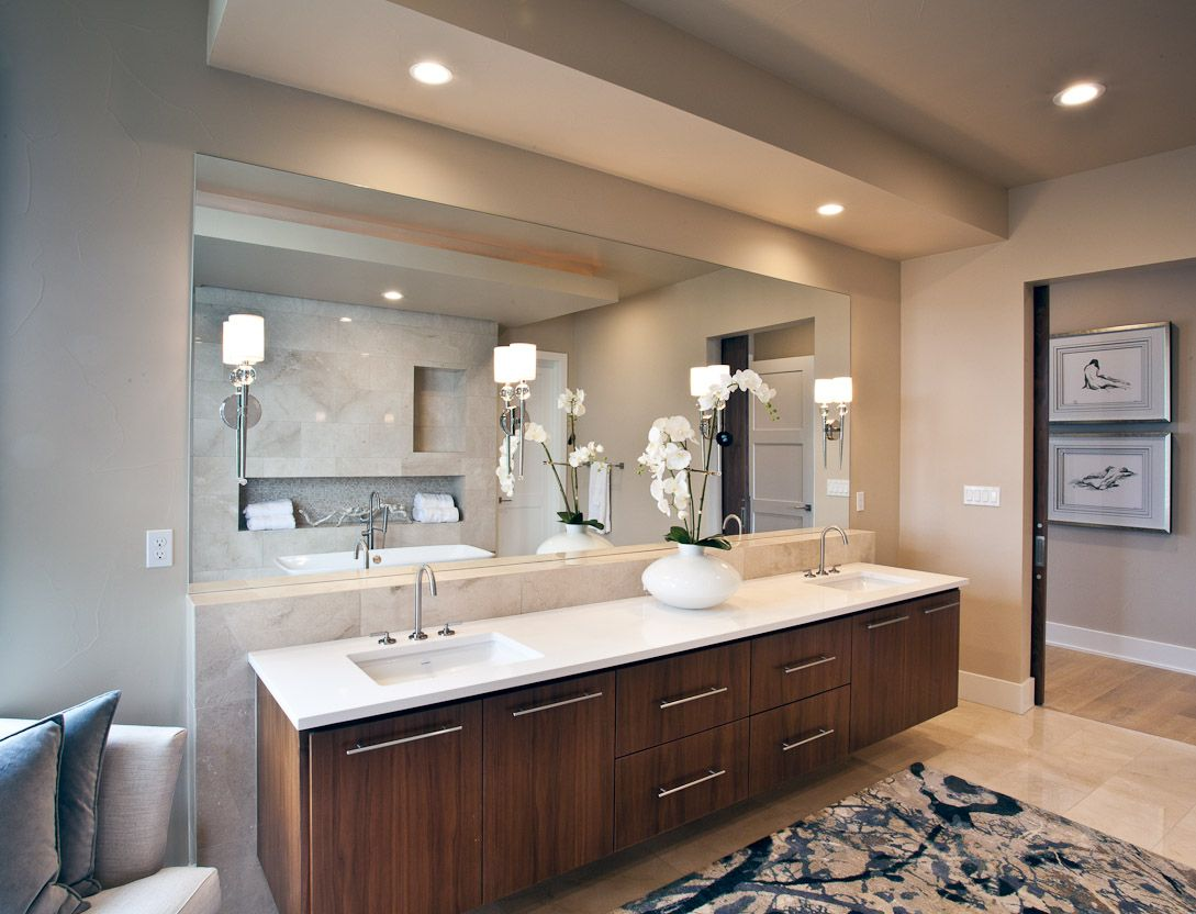 Marble Countertops Austin Vanity With Titanium White Metro Quartz By Heyl Homes In