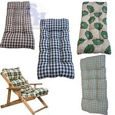 Ricambio cuscino imbottito sedia poltrona legno sdraio - Sdraio in legno ikea ...