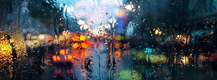 Rainy FB Covers | rain nature for facebook