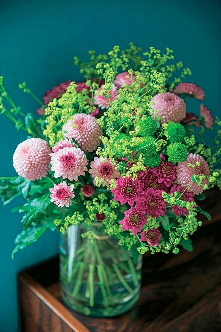 Pretty Pink And Green Flowers Flowers Pinterest Flowers
