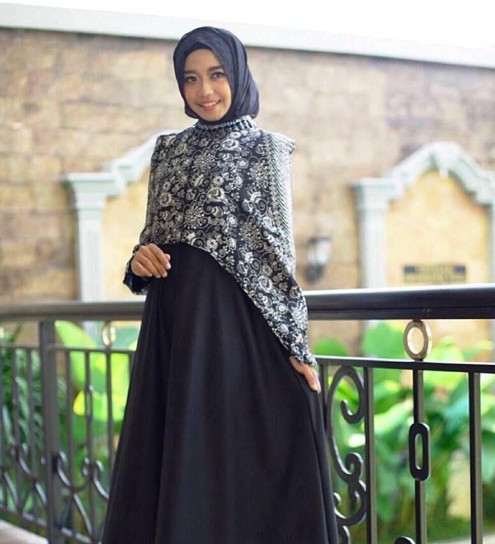 Model Gamis Batik Untuk Kondangan di 9  Wanita, Model, Baju muslim