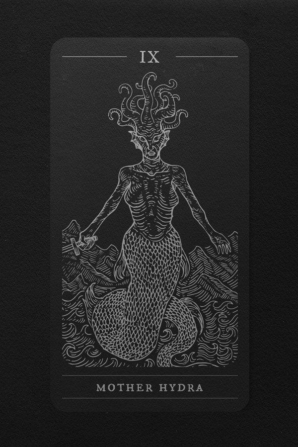 The Elder Tarot by Jan Pimping   Goddesses in 2019   Tarot