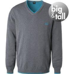 Photo of Boss sweater men, cotton, gray Hugo Boss